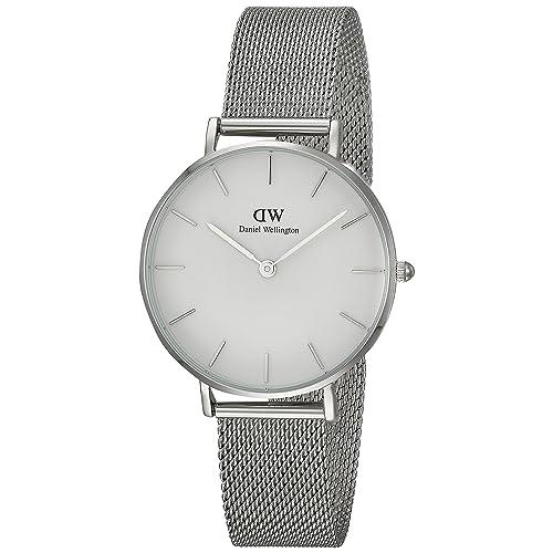 Daniel Wellington DW00100164 - Reloj de pulsera de cuarzo para Mujer, con correa de malla