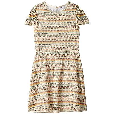Missoni Kids Zigzag Lame Dress (Big Kids) (Multi) Girl