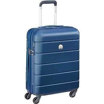 DELSEY PARIS - LAGOS  - Valise cabine rigide à système télescopique multi positions - 55cm, 44L, Bleu