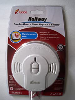 Kidde i9010 10-Year Sealed Lithium Battery-Operated Smoke Alarm with Memory and Smart Hush