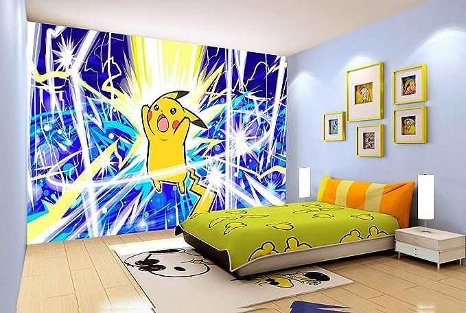 Pikachu Funny Custom Wall Decals 3D Wall Stickers Art JS967