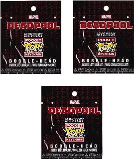Funko Pocket Pop Deadpool Mystery Keychain Figure, Pack of 3