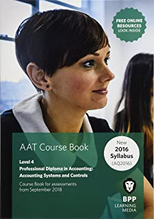 AAT Accounting Systems & Controls (Synoptic Assessment): Coursebook