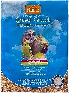 Hartz Universal Limestone Gravel Paper Bird Cage Liners - 9 Pack