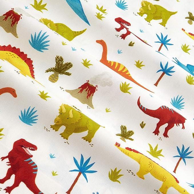 Dinosaur Green /& Black Fabric Prehistoric Lizard Robert Kaufman Fabric Dino Fabric T-Rex Boys Cotton Fabric t335