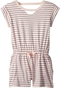 Splendid Littles - Yarn-Dye Stripe Romper (Big Kids)