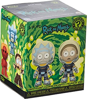 Funko Mystery Minis: Rick & Morty - 12PC PDQ, One Random Mystery Action Figure - 45497