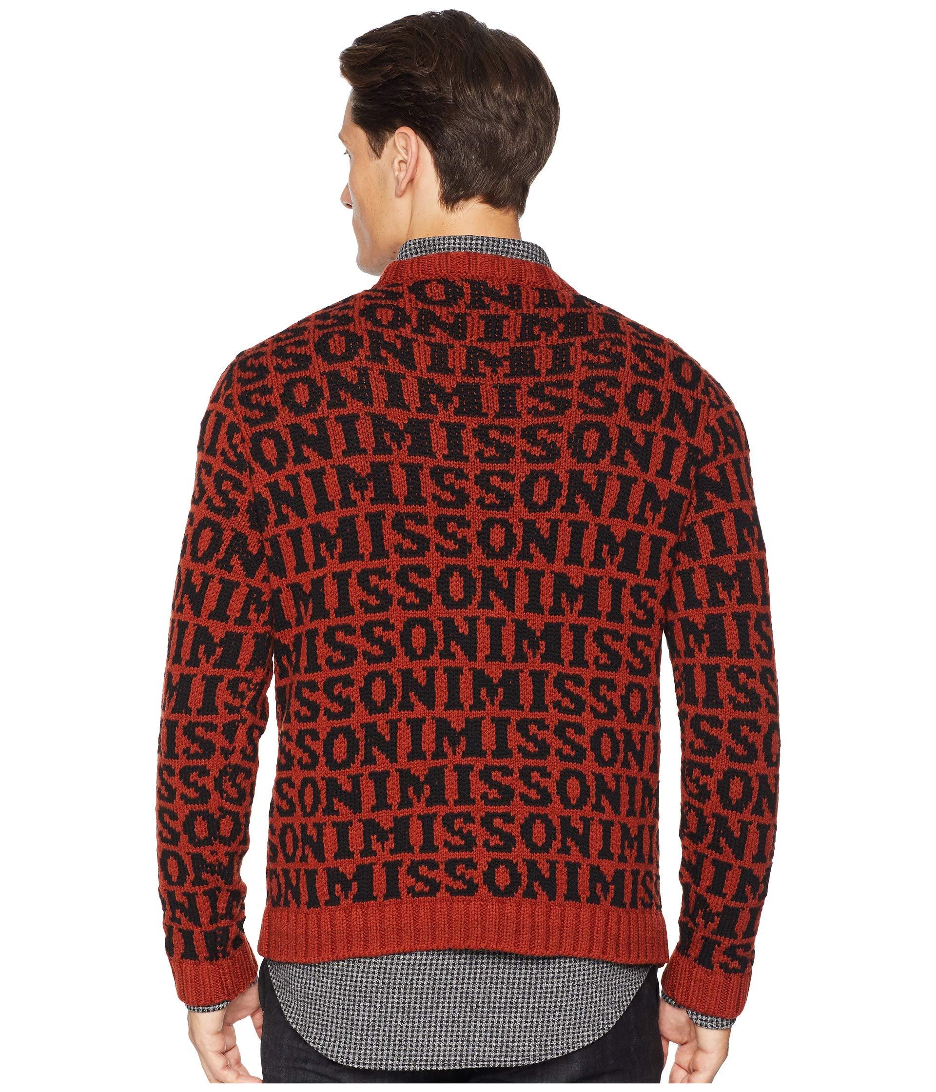 Sweater Logo black Brown Sweater Missoni Missoni Logo n8dwxCqvPw