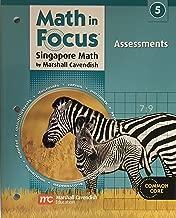 Math in Focus: Singapore Math: Assessment Grade 5