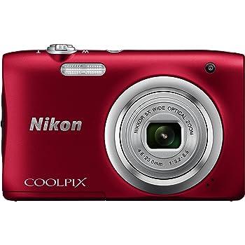 Nikon デジタルカメラ COOLPIX A100 光学5倍 2005万画素 レッド A100RD