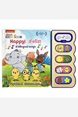 Happy!/¡feliz!: 8 Bilingual Songs (Nick Jr. Canticos) (English and Spanish Edition) (Nick Jr Canticos 8-Button Early Bird Switch Sound Books) Board book