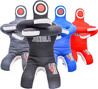 Grappling Dummy MMA Jiu Jitsu – Grappling Wrestling Dummy – Made from Durable Canvas Fabrics – MMA Dummy for Multiple Drills UNFILLED