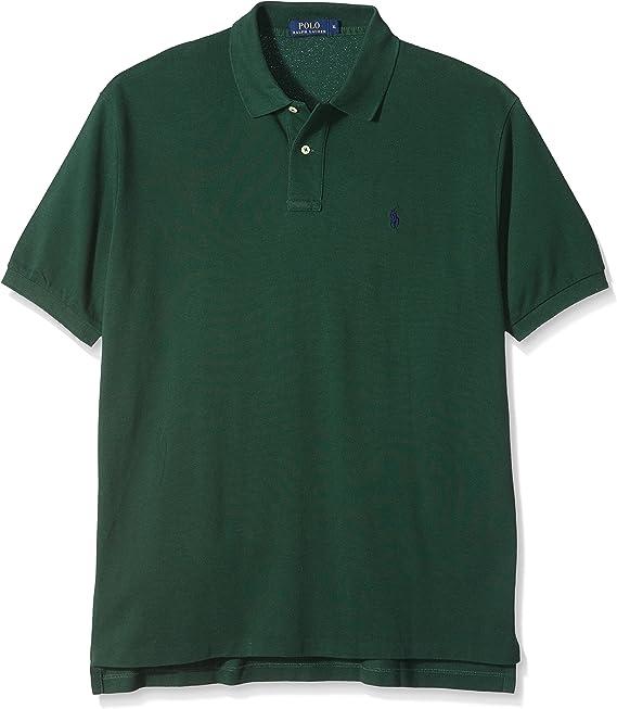 Ralph Lauren - Polo para Hombre, Color Verde Oscuro