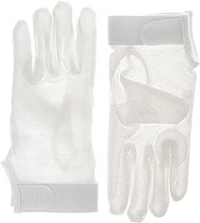 Algodón Pimple guantes de equitación con cierre de velcro en la muñeca, tamaños: Extra Pequeño–Extra grande