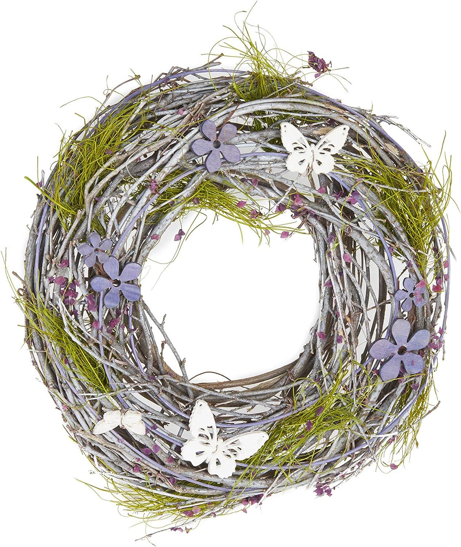 HEITMANN trust DECO Wreath mit Schmetterlingen Limited price sale Natural
