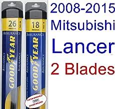 Best 2016 mitsubishi lancer windshield wiper size Reviews
