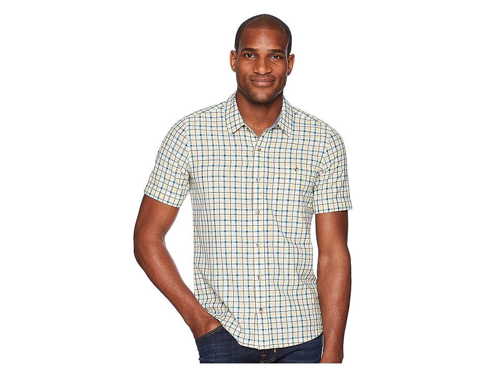 Toad&Co Airlift Short Sleeve Slim Shirt (Salt) Men