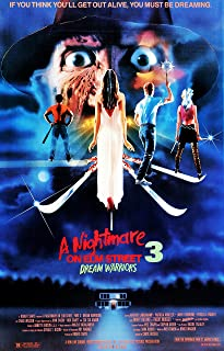 Movie Poster A Nightmare on Elm Street 3: Dream Warriors (1987) 24x36