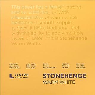 Stonehenge STONEHANGE Paper 8X8, Warm White 90lb, One Size