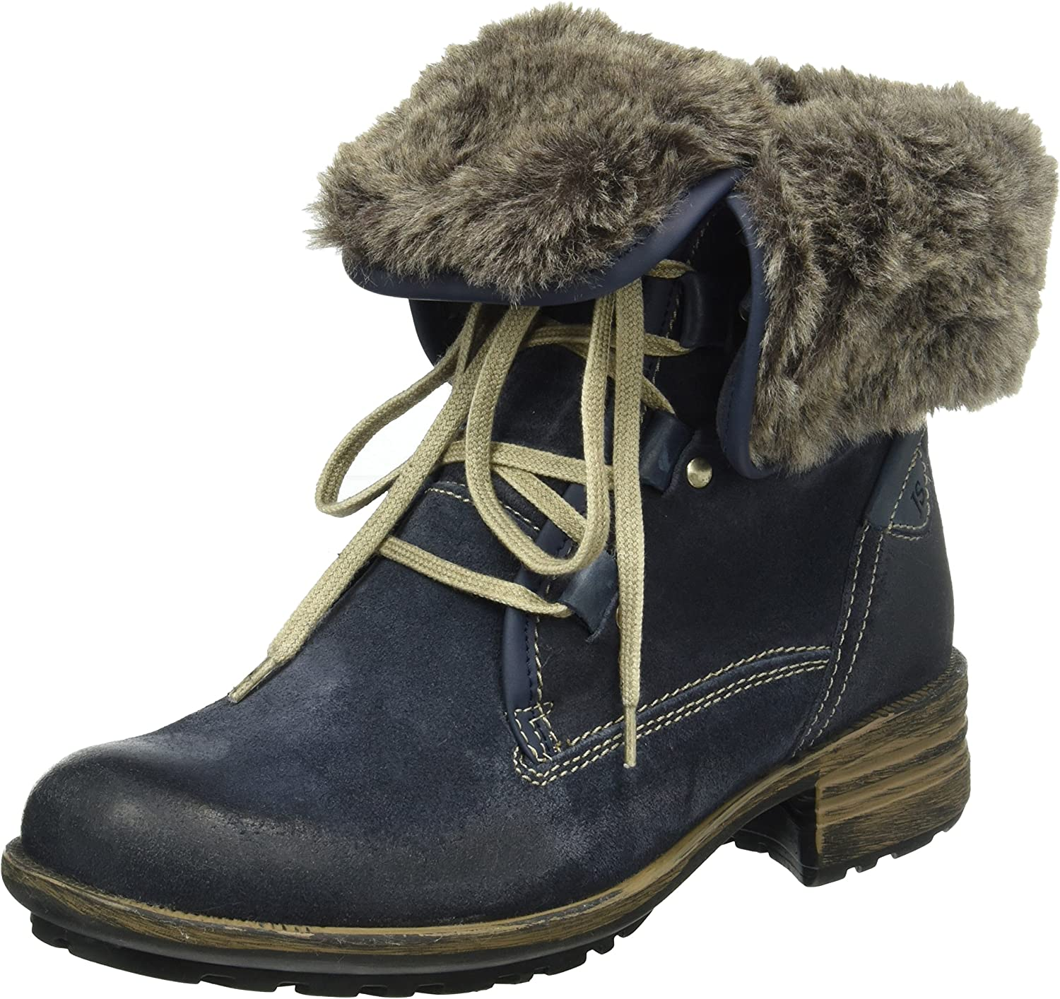 Josef Seibel Womens Sandra 04 Boots Denim Combi bluee
