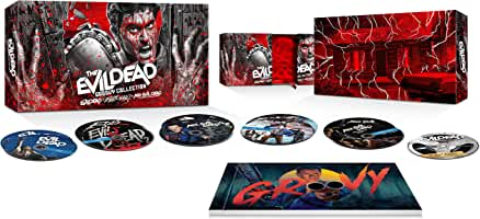 The Evil Dead Groovy Collection arrives on 4K Ultra HD, Blu-ray, Digital Nov. 16 from Lionsgate