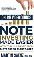 Note Investing Made Easier | Online Video Course [Online Code]