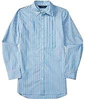 Polo Ralph Lauren Kids - Yarn-Dyed Cotton Poplin Stripe Tunic (Big Kids)