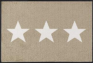 Wash&Dry Doormat, Acrylic, Beige, 50x75 cm