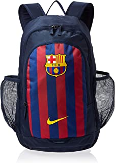 Mochila Stadium FC Barcelona Bkpk, Unisex Adultos, color Obsidian/Deep Royal