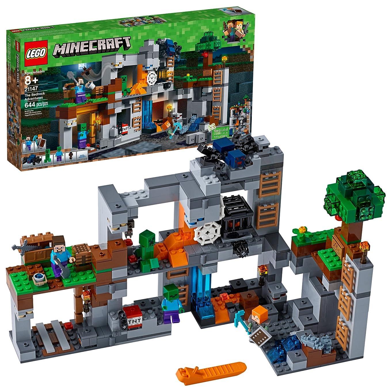 LEGO Minecraft The Bedrock Adventures 21147 Building Kit (644 Piece)