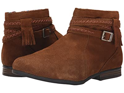 Minnetonka Dixon Boot (Dusty Brown Suede) Women
