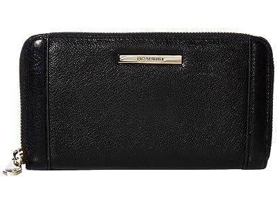 Brahmin Newbury Suri (Black) Wallet Handbags