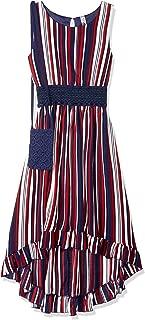Beautees Girls' Big Lace Dress