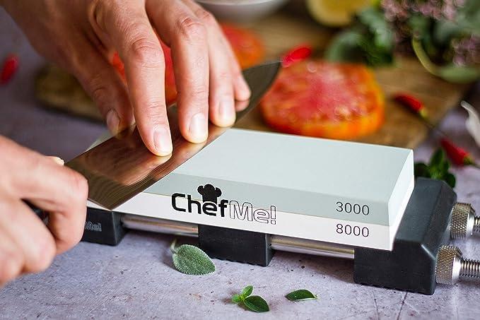 piedra de afilar cuchilos de la marca chefme