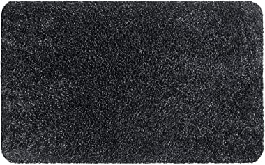 Aquastop Entrance Mat for Indoor Use Cotton and Polyester 40 x 60 cm Graphite