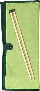 Knit Pro 22548 - Agujas de Tejer de bambú de Madera establecen Symfonie, 35 cm