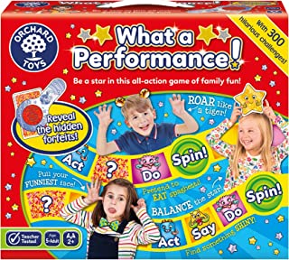 Orchard Toys What a Performance Game, Multi Colour, Board Game, 047