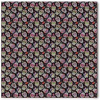 Geometric Bandana, Sketchy Rhombus Cells, Unisex Head and Neck Tie,23.623.6inch