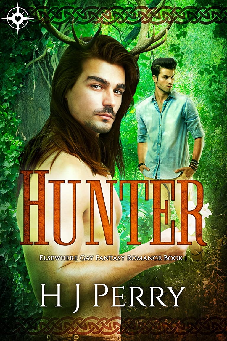 アルコール論争的平行Hunter: Elsewhere Gay Fantasy Romance (English Edition)