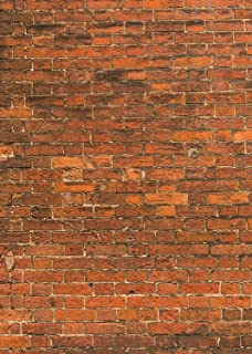 FUERMOR 5X7FT Red Brick Wall Photography Backdrop Customized Photo Background Studio Wall Props A712