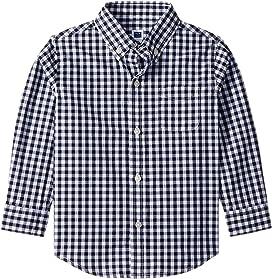 4831b1c0 Long Sleeve Button Down Shirt (Toddler/Little Kids/Big Kids). Janie and Jack