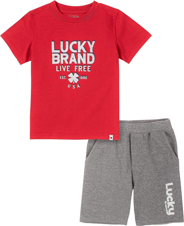 Lucky Brand baby-boys 2 Pieces Shorts Set