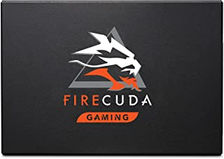 Seagate FireCuda 120 SSD, 2 TB, Interne SSD, SATA 6 GB/s, 3D TLC, voor Gaming PC Laptop, 3 jaar Rescue Services (ZA2000GM1...