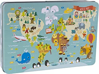 Apli Paper Ref. 14550 Puzzle Mapa Mundi Martina Hogan