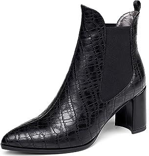 Botas de tacón grueso para mujer, de Mettesally