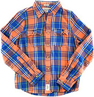 Mens Flannel Long Sleeve Shirt