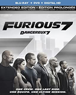 Sponsored Ad - Furious 7 (Extended Edition) (Blu-ray + DVD)