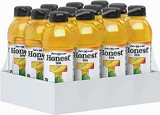 Honest Tea (Organic Orange Mango Herbal Tea, 16.9 Fl. Oz Bottle, 12 Pack)