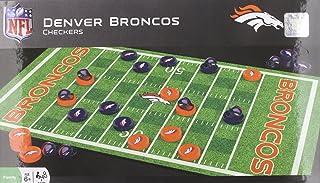 MasterPieces NFL Denver Broncos Checkers Board Game