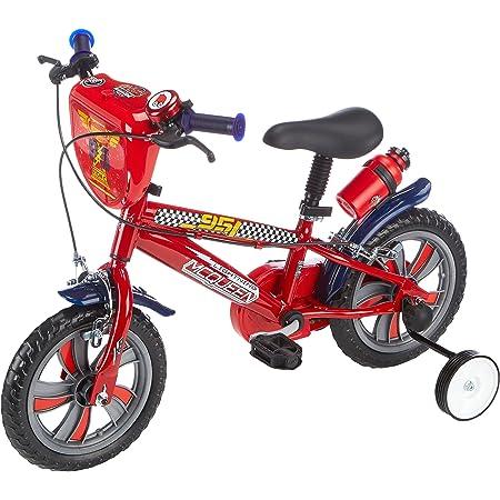 Denver Bike Disney Cars - Bicicleta de Rayo Mcqueen con ruedines